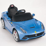Ferrari F12 Berlinetta 12V Ride On Car + Remote - Blue
