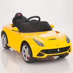 Ferrari F12 Berlinetta 12V Ride On Car + Remote - Yellow