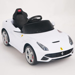 Ferrari F12 Berlinetta 12V Ride On Car + Remote - White