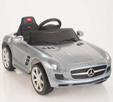 Mercedes-Benz SLS AMG Ride On Car + Remote - Gray