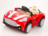 12V Maserati Style Ride On Car With Remote & MP3 Red
