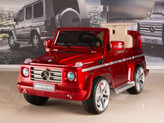 Mercedes G55 AMG 12V Kids Ride On Car w/ Remote, Red