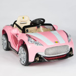 12V Maserati Style Ride On Car With Remote & MP3 Pink