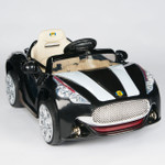 12V Maserati Style Ride On Car With Remote & MP3 Black