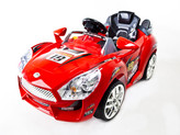Hot Racer Red #19 Kids Ride On Car + R/C Remote & MP3