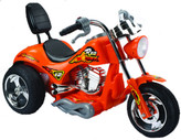 Mini Motos Red Hawk Motorcycle 12V Orange