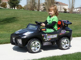 Mini Motos Super Car 12v Black + Remote Control
