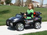 Mini Motos Super Car 12v Black + Remote Control