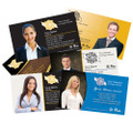 Slim Silk Laminate Business Cards with Spot UV