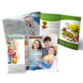 100lb Gloss Text 8.5 x 14 Brochures (Offset)
