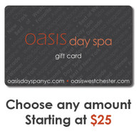 Oasis Gift Card - Spa Dollars