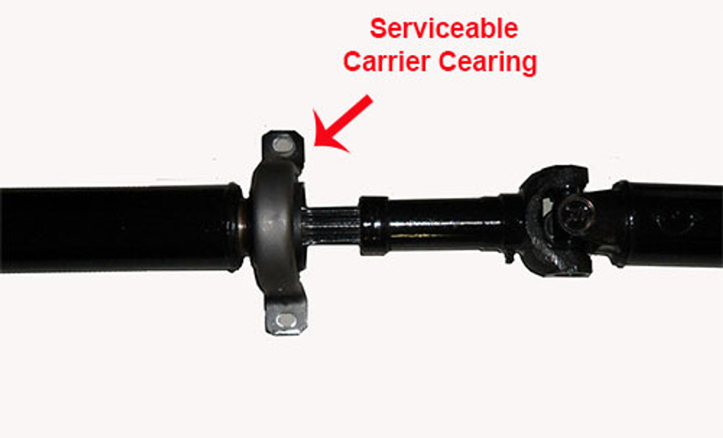 comes with new servicable carrier bearing