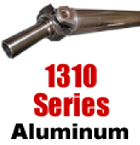 "1310 Aluminum Drive Shaft, 3"", up to 52"""
