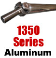 "1350 Aluminum Drive Shaft, 4"", up to 62"""