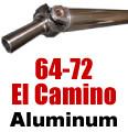 64-72 El Camino Aluminum Driveshaft