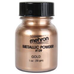 Mehron Metallic Powder GOLD 28g