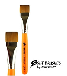 BOLT ONE STROKE 1 inch Face Painting Brush by Jest Paint