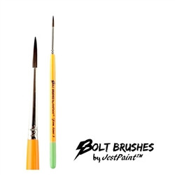 BOLT FIRM Liner #3 Face Painting Brush by Jest Paint
