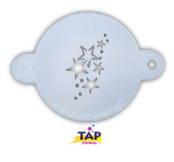 STARS 012 Face Painting Stencil