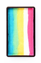 PINK/WHITE/YELLOW/BLUE One Stroke Party Xplosion 30g Pro Face Paint