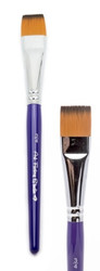 FLAT brush 3/4 inch - Art Factory face paint brushes