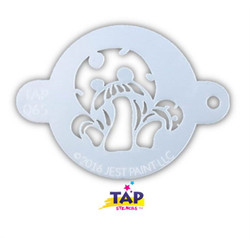 MAGICAL MUSHROOMS TAP 065 Face Painting Stencil