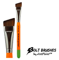 "BOLT 3/4"" Angle (FIRM) Face Painting Brush by Jest Paint"