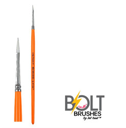BOLT CRISP Round #1 Face Painting Brush by Jest Paint