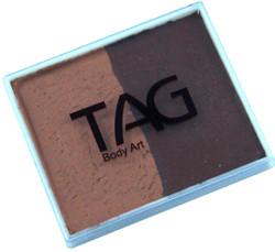 TAG regular 50g split brown - mid brown