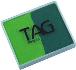 TAG regular 50g split green - light green
