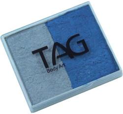 TAG pearl 50g split blue - silver