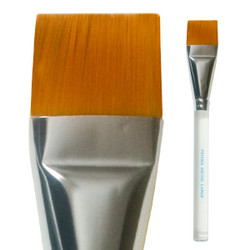Prisma Square Brush 2.54cm (one inch flat) by Mehron
