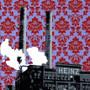 Heinz factory Pittsburgh PA silk screen print artwork by Charlie Barton