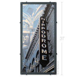 Hippodrome Theater Silk Screen Print