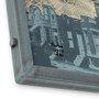 Baltimore Rowhouse Map Hand-Welded Steel Frames
