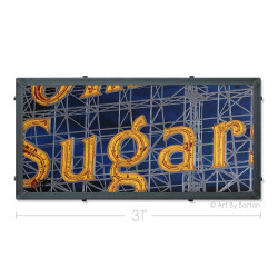 Domino Sugars Silk Screen Artwork