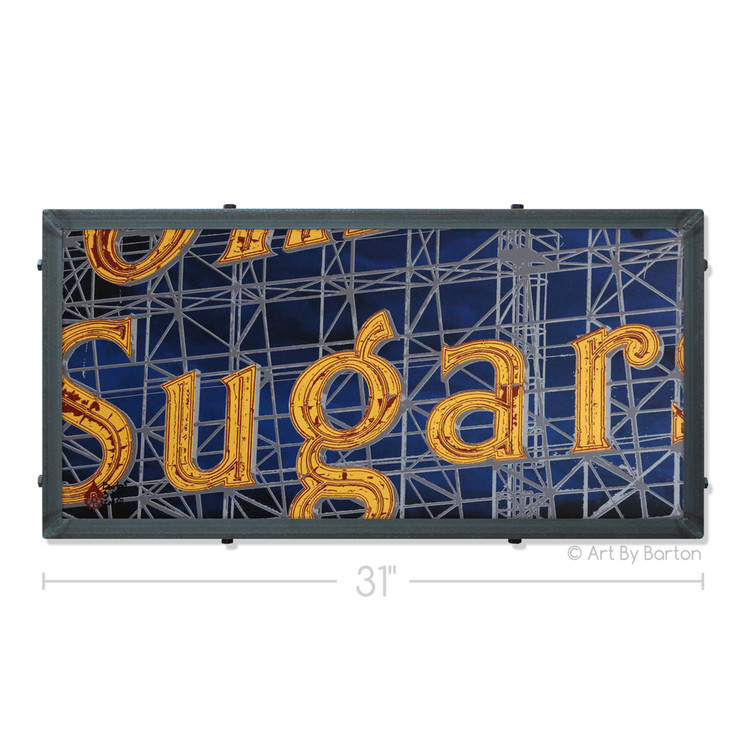 Domino Sugars Silk Screen Artwork