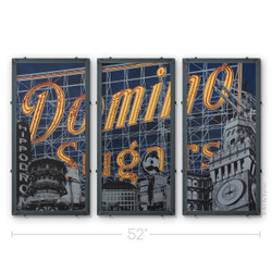 Domino Triptych Silk Screen Print