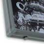Domino Triptych Welded Steel Frame Option