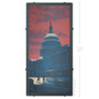 Capitol Sunset Washington D.C. Silk Screen Print