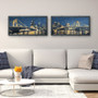 Pittsburgh Skyline Starmap Panoramic Pittsburgh Art