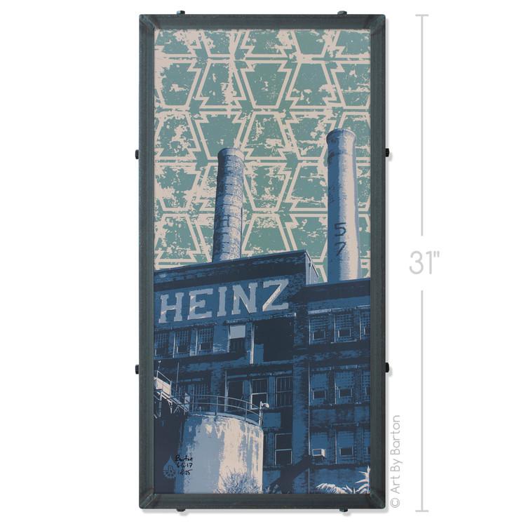 Heinz Factory Silk Screen Artwork