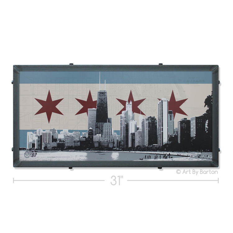 Chicago Silk Screen Artwork