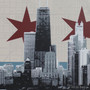 Chicago Silkscreen Artwork Detail