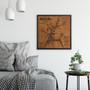 Ellicott City map artwork