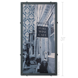 Ellicott City Silk Screen Print by Charlie Barton