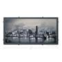 Little Baltimore Skyline with Clouds Silk Screen Artwork