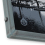 Little Baltimore Skyline with Clouds Hand Welded Steel Frames