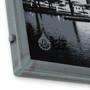 Little Grey Baltimore Skyline Hand Welded Steel Frames