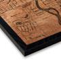 Art By Barton Denver Historical Map Print